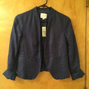 🆕 NWT Blue Linen Blazer